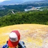 子供と紅岩のツーショット