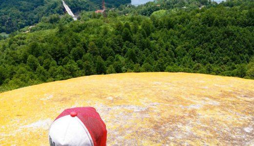 紅岩へ子供とお出かけ♪恵那峡のパワースポット!