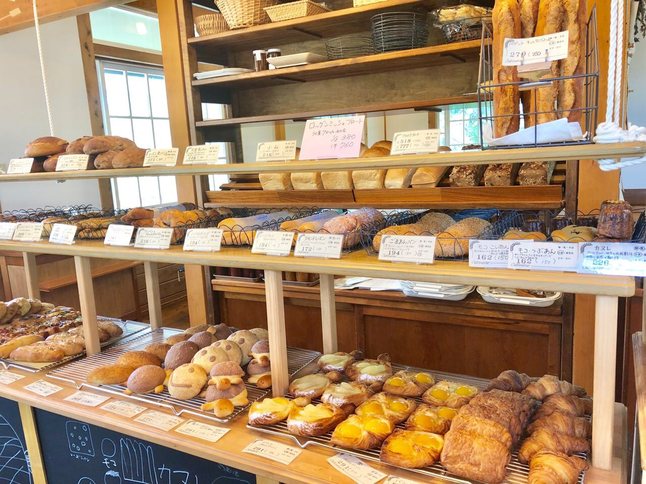 キュルティヴァトゥールのたくさんのパン