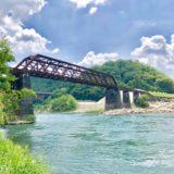 北恵那鉄道廃線跡の奇跡の鉄橋「木曽川橋梁」がスゴすぎる!