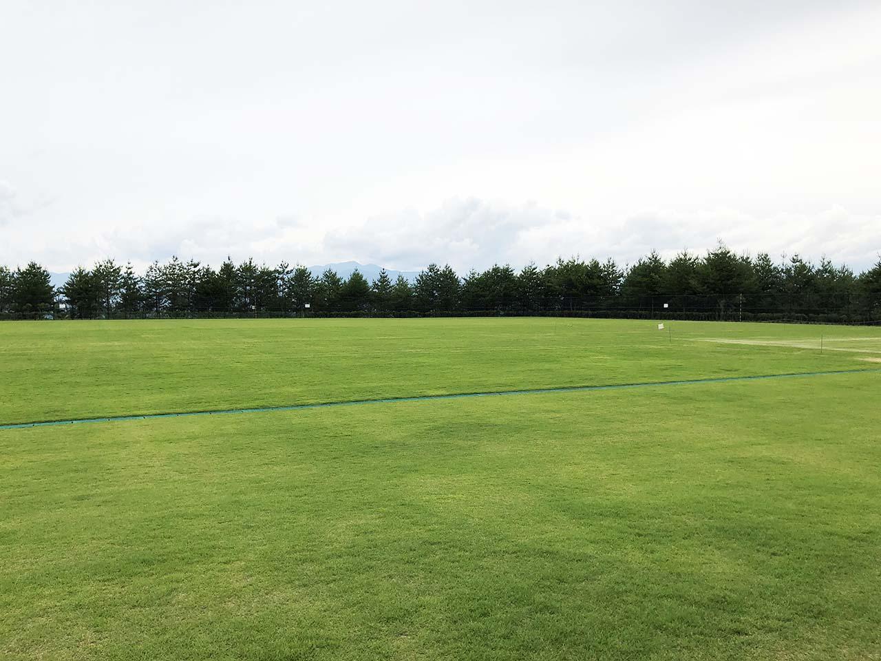 子供と遊ぶ公園中津川市の中津川公園の多目的芝生広場2