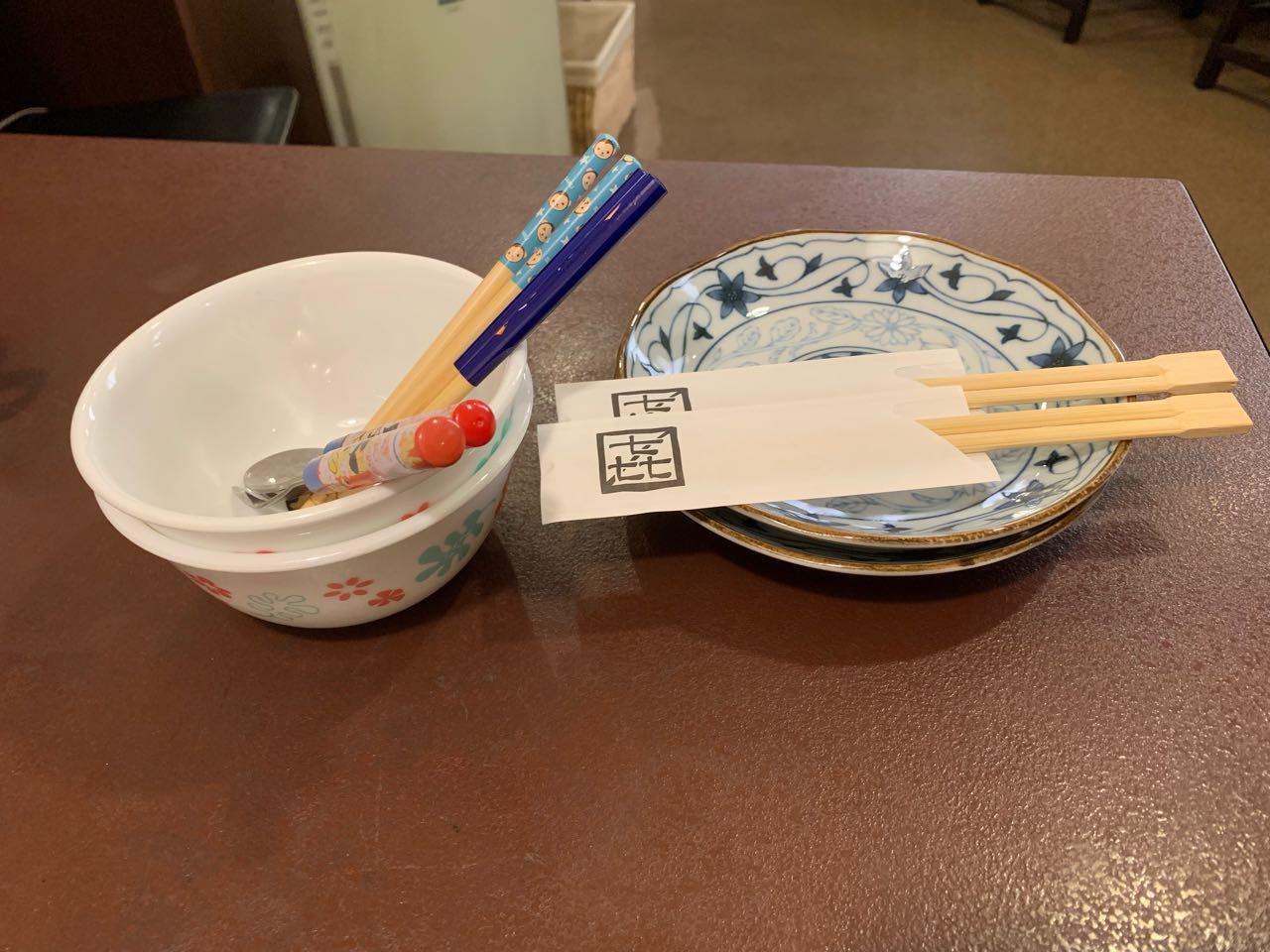 恵那 駅前 和洋亭 ますき 子供皿