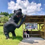 恵那のリアルかかしのクマ