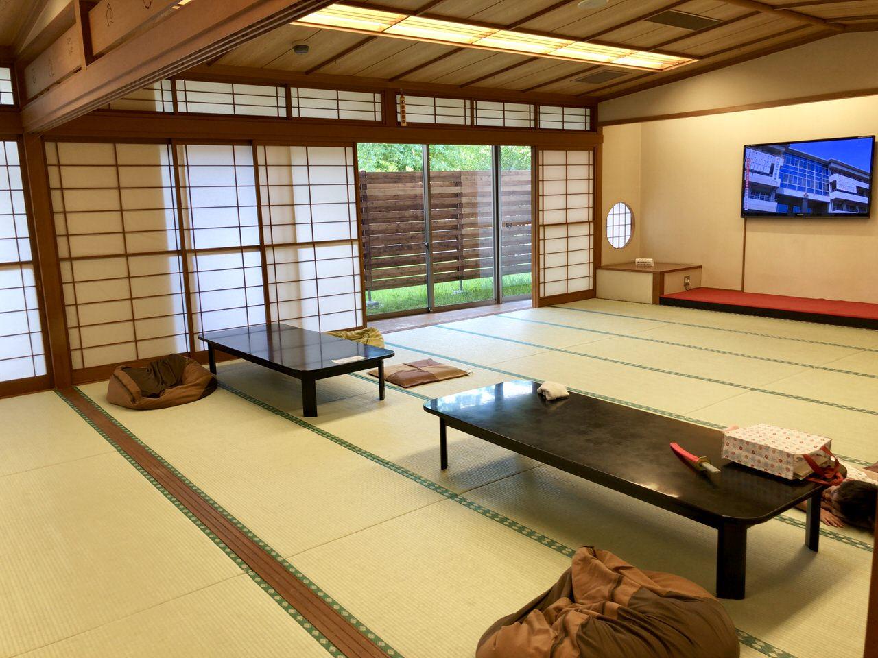 中津川のクアリゾートの和室