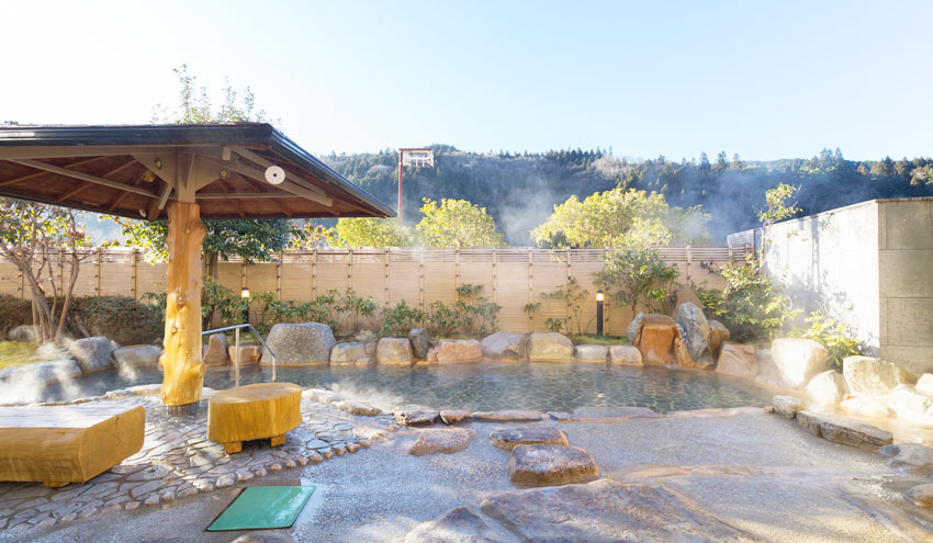 クアリゾート湯舟沢の露天風呂