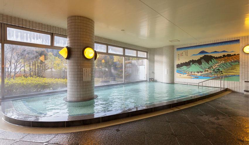 クアリゾート湯舟沢の温泉