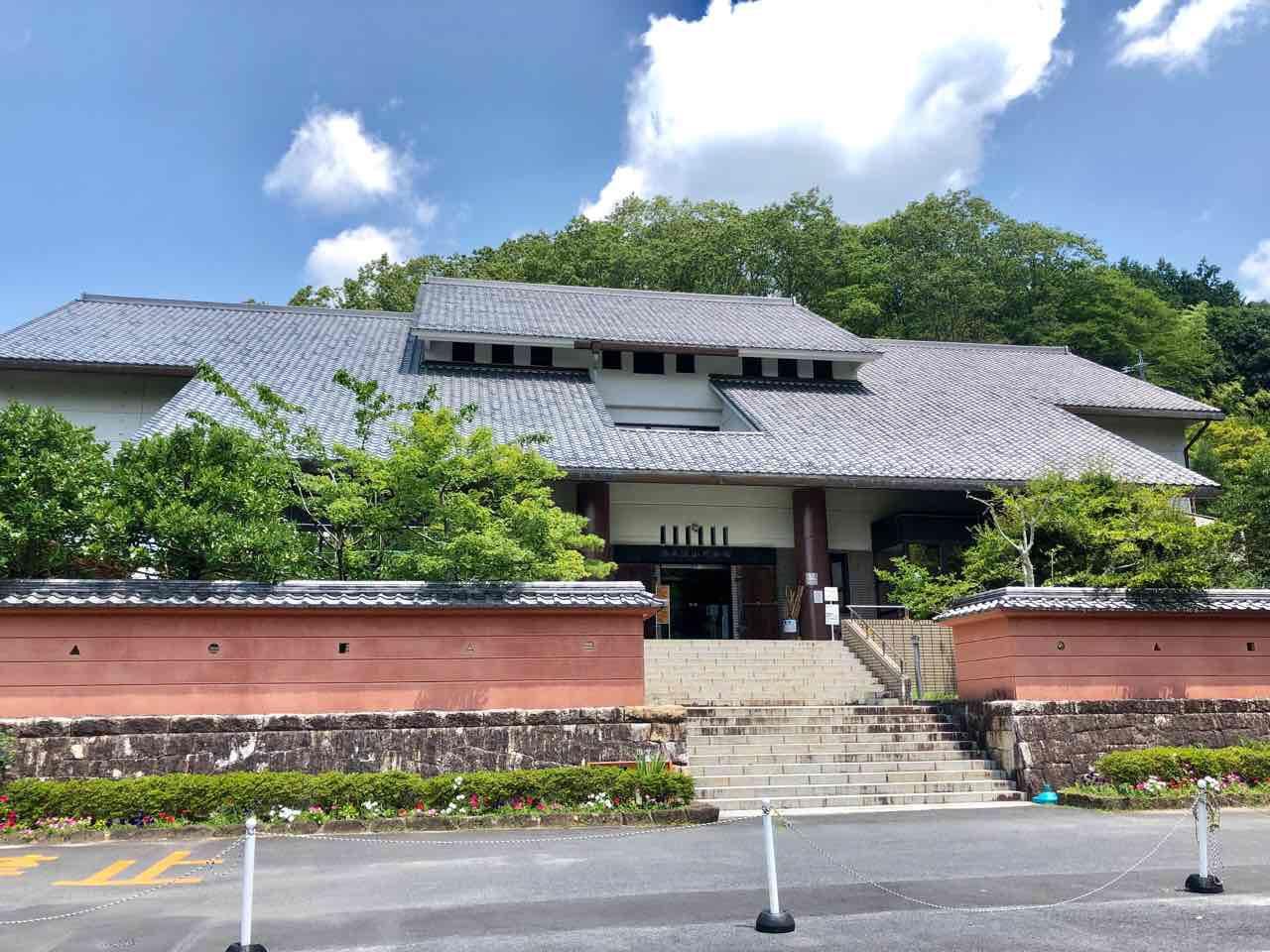 苗木遠山資料館の建物