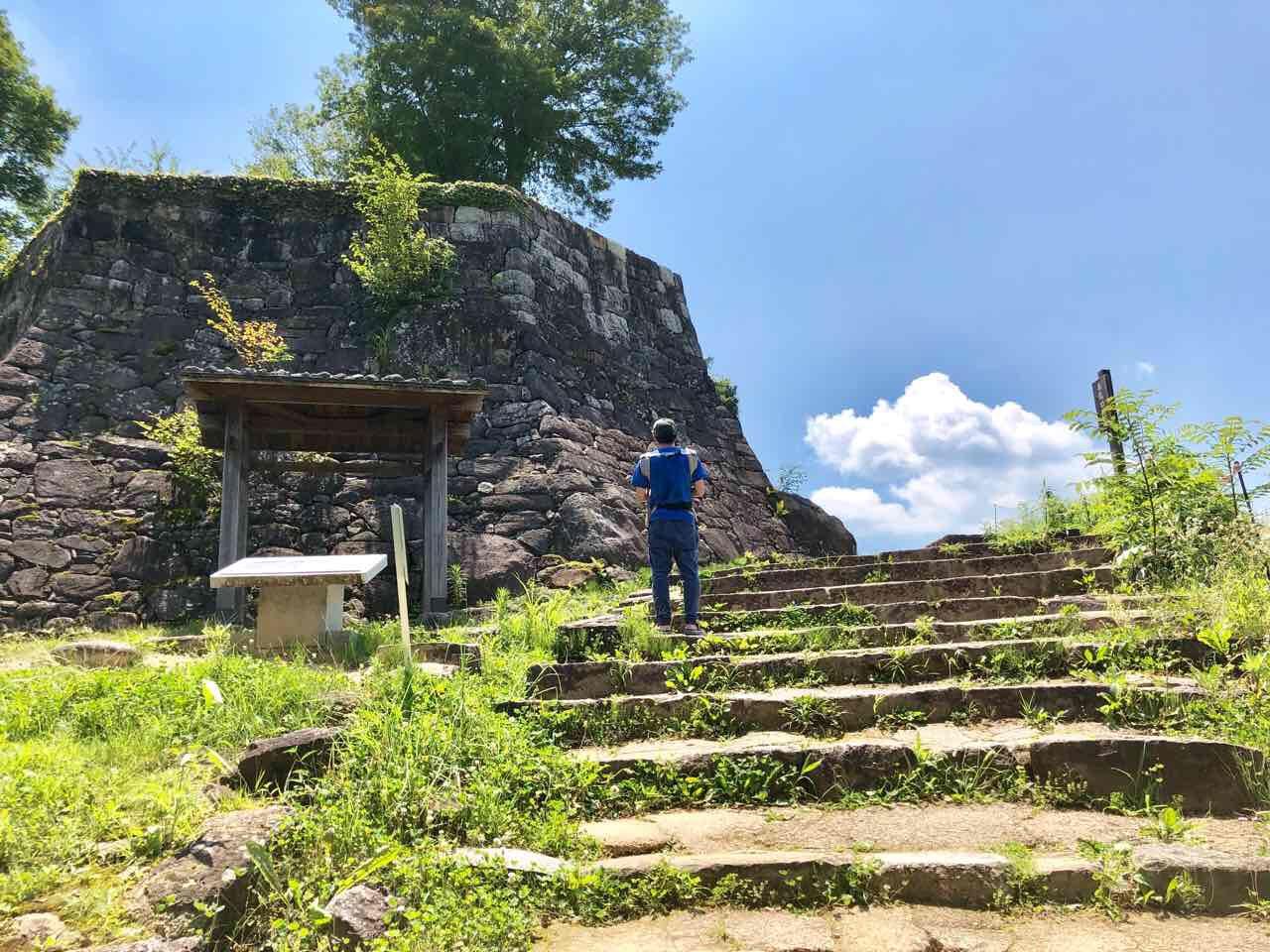 苗木城跡古い井戸発見