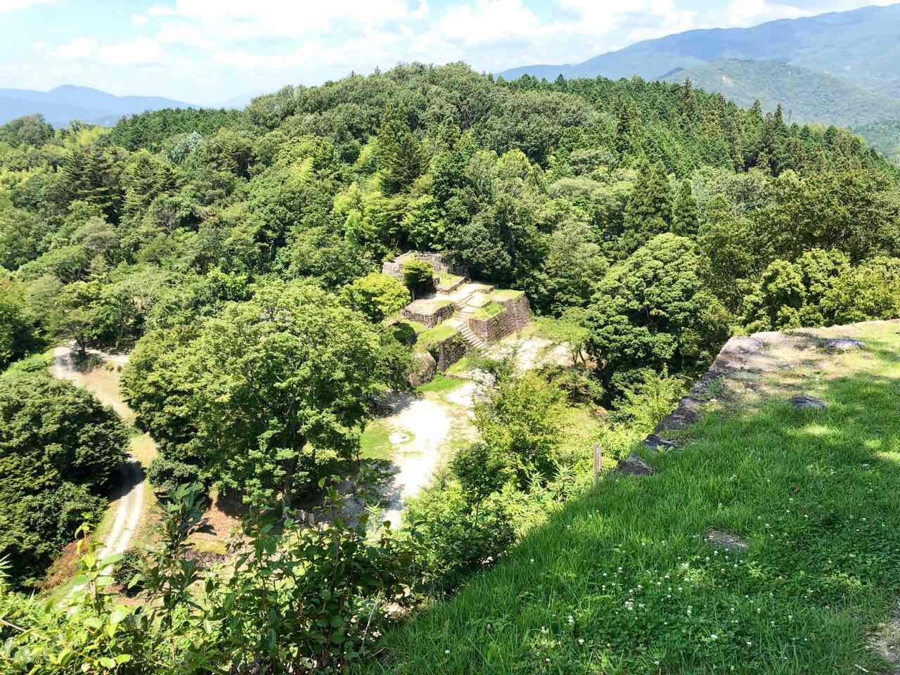 中津川の苗木城跡とてもいい景色