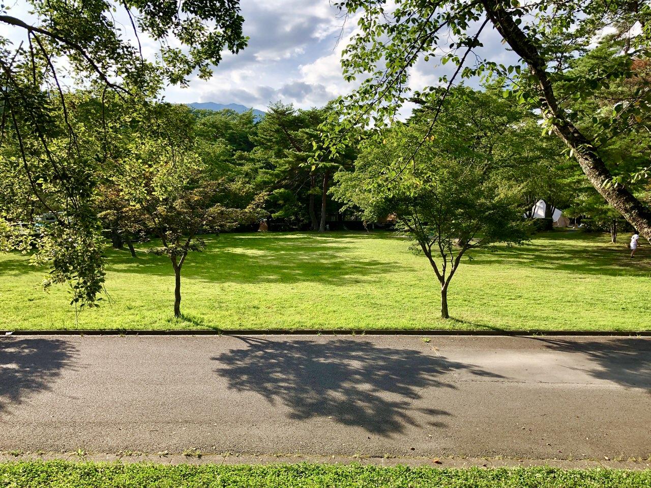 福岡ローマン渓谷オートキャンプ場の遊びの広場