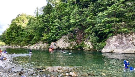 福岡ローマン渓谷オートキャンプ場 川遊びに最適!付知川がすぐ隣!