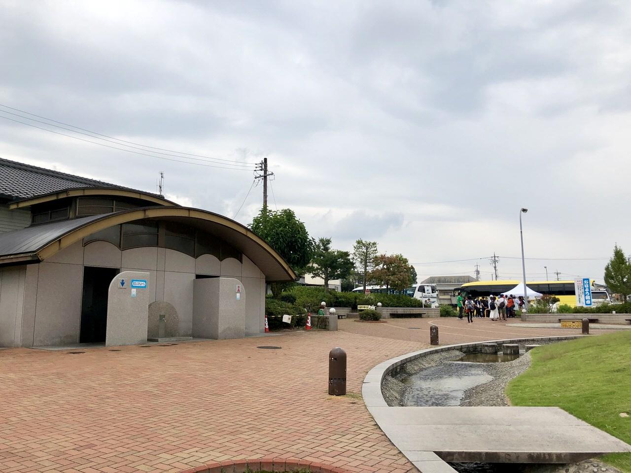中津川ソーラーにぎわい広場のトイレ