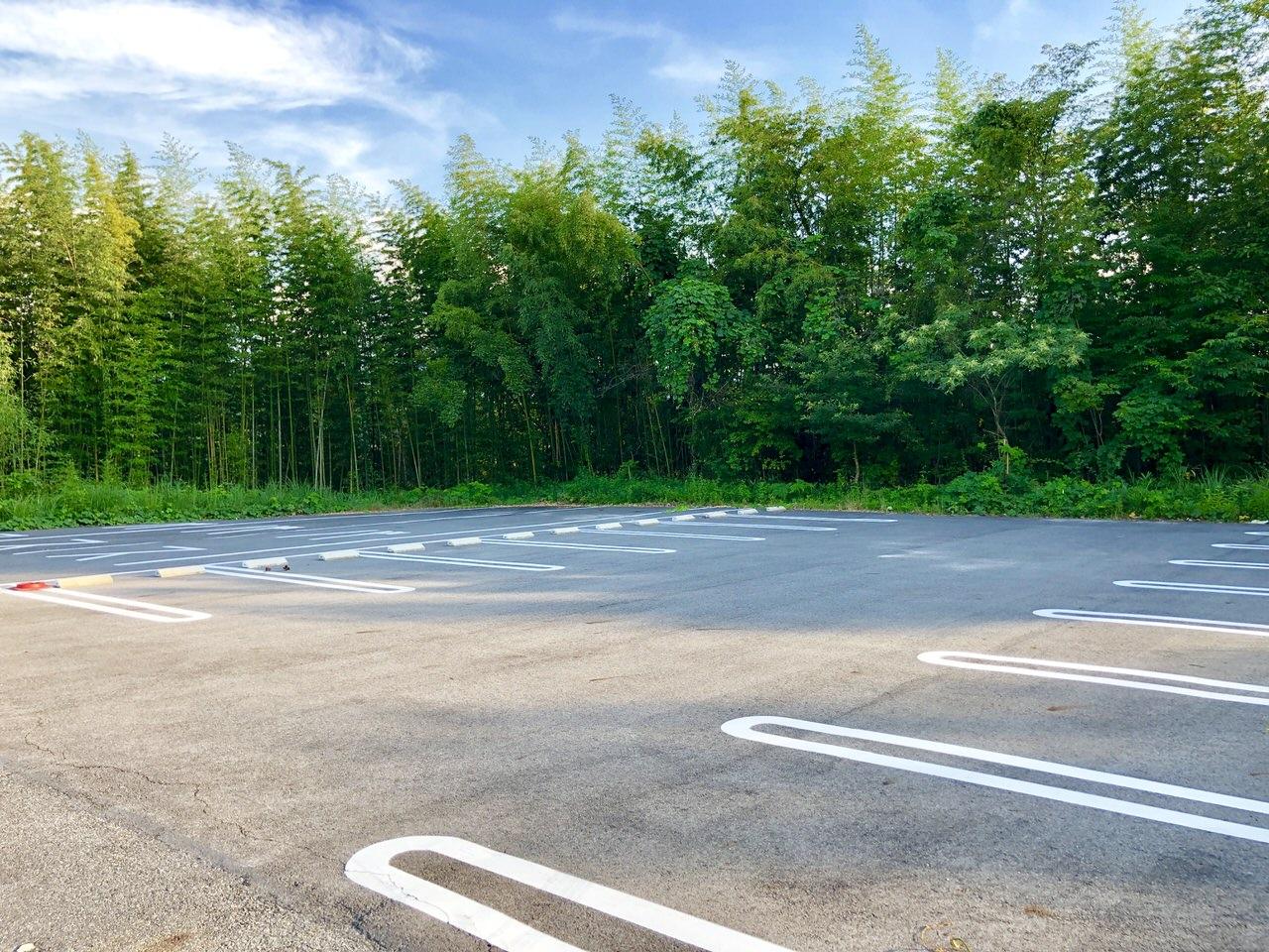 苗木城跡第三駐車場
