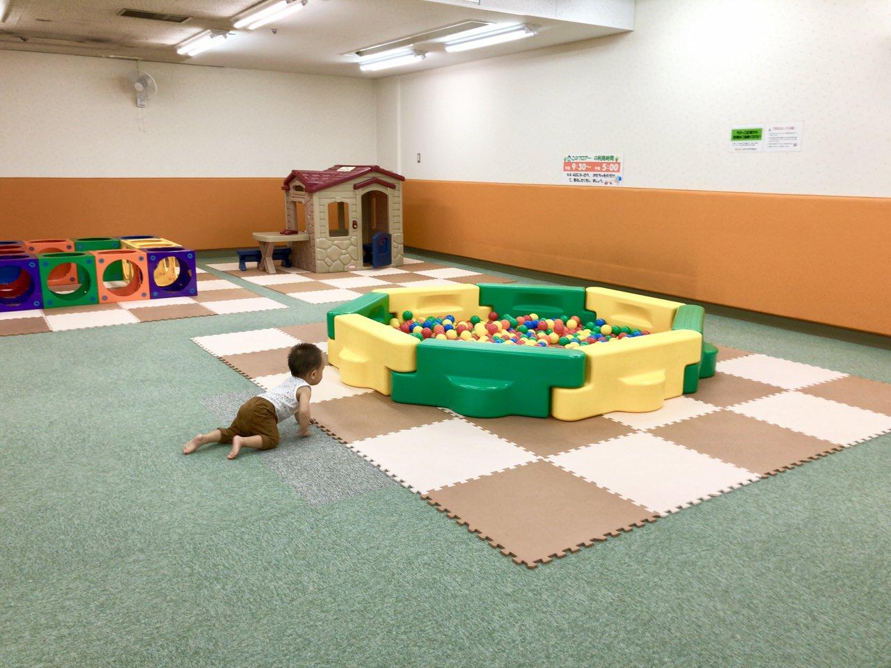 にぎわいプラザ子育て支援センター幼児遊びの広場