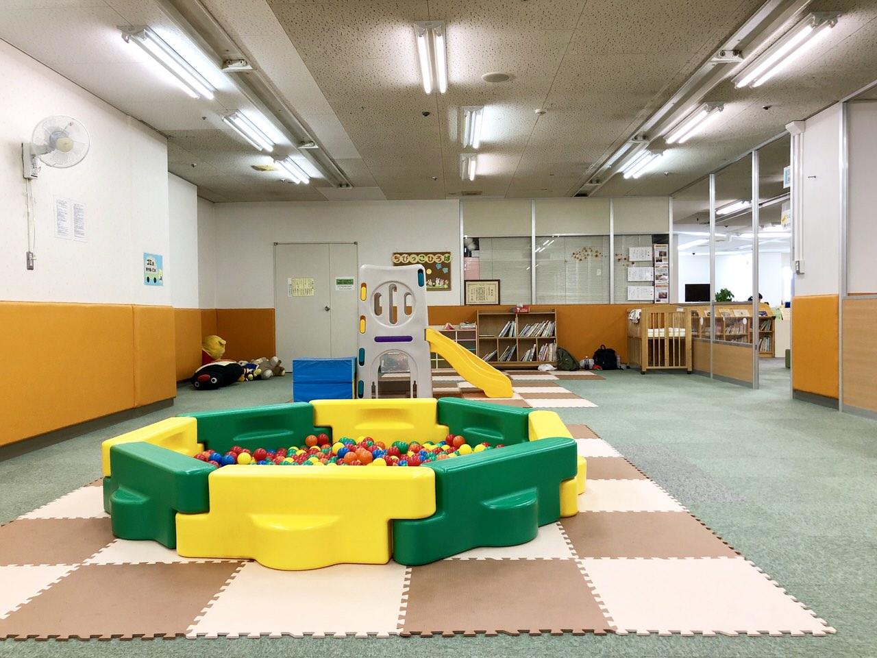 にぎわいプラザ子育て支援センターの幼児遊びの広場