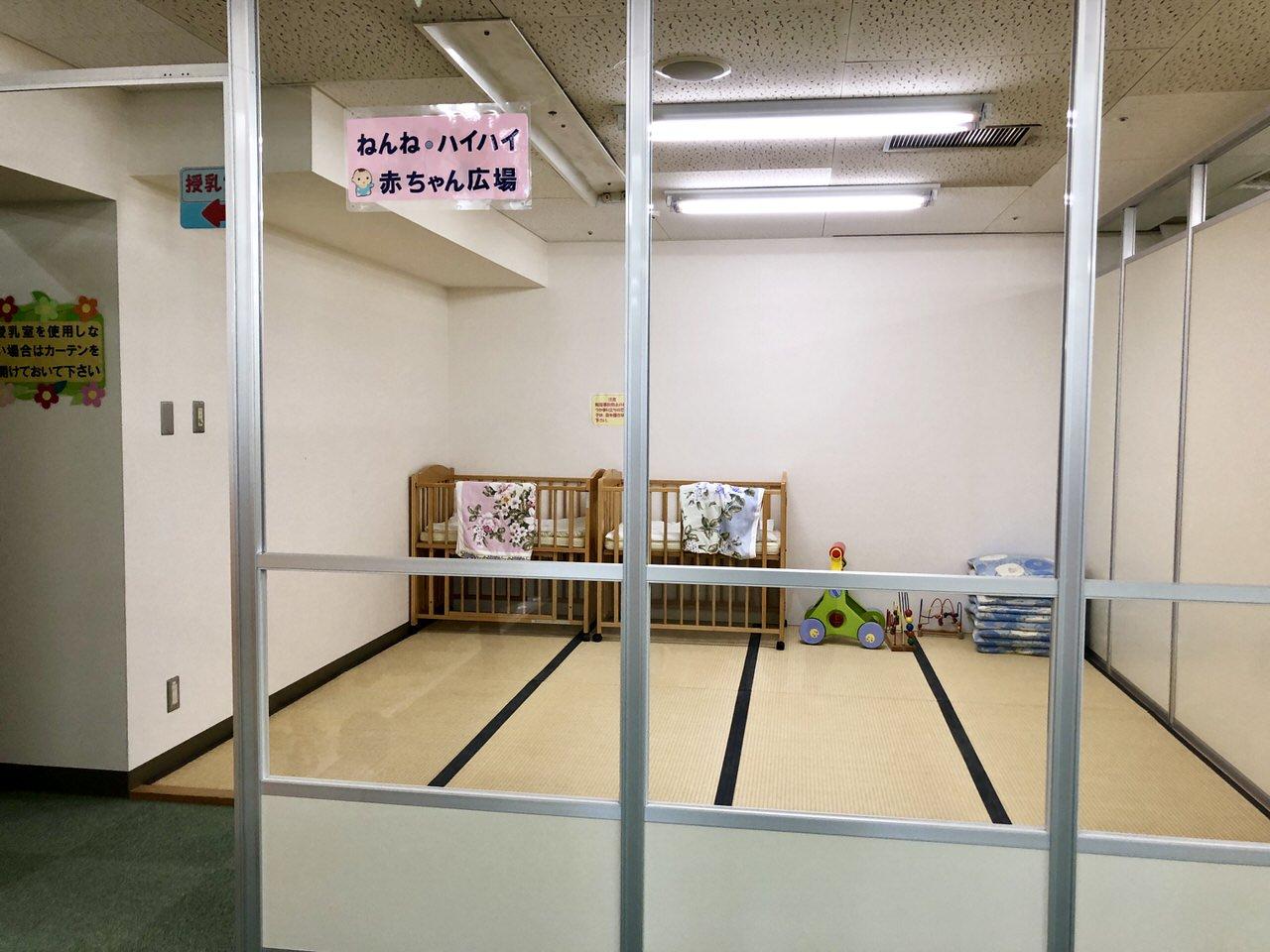 にぎわいプラザ子育て支援センター休憩室