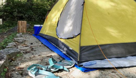 【アウトドア】直火OKなキャンプサイト 根の上高原保古の湖キャンプ場
